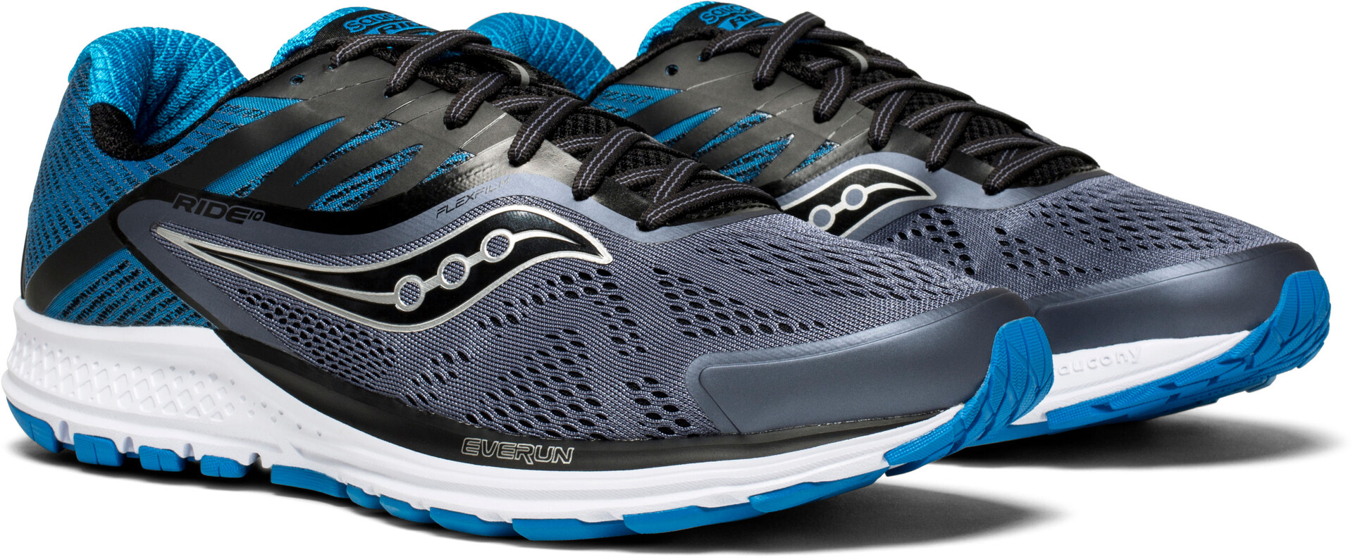 Chaussures Sur Running Saucony Grisbleu 10 Campz Homme Ride T7xYE